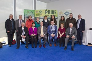 Members of Cork County Federation Muintir na Tire and Environment Directorate Cork County Council at the Pride in Our Community Launch