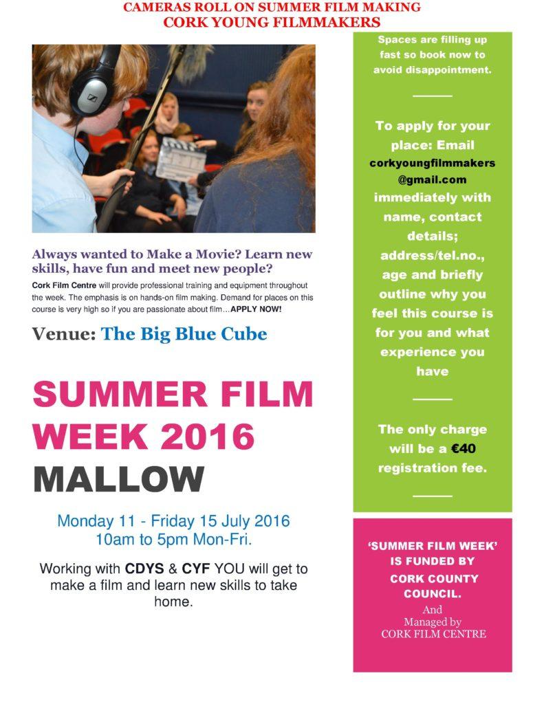 Mallow Summer Film Week