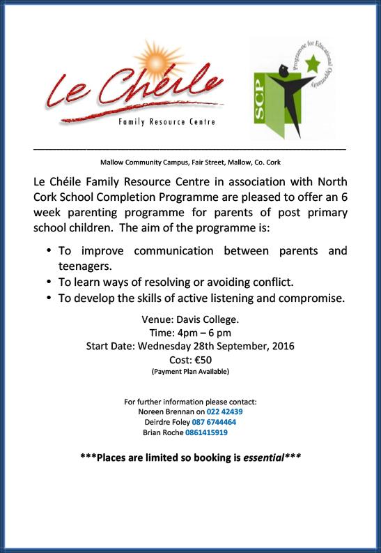 Parenting Courses Davis College