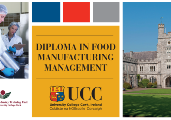 UCC, Diploma in Food Manufacturing Management (part-time)