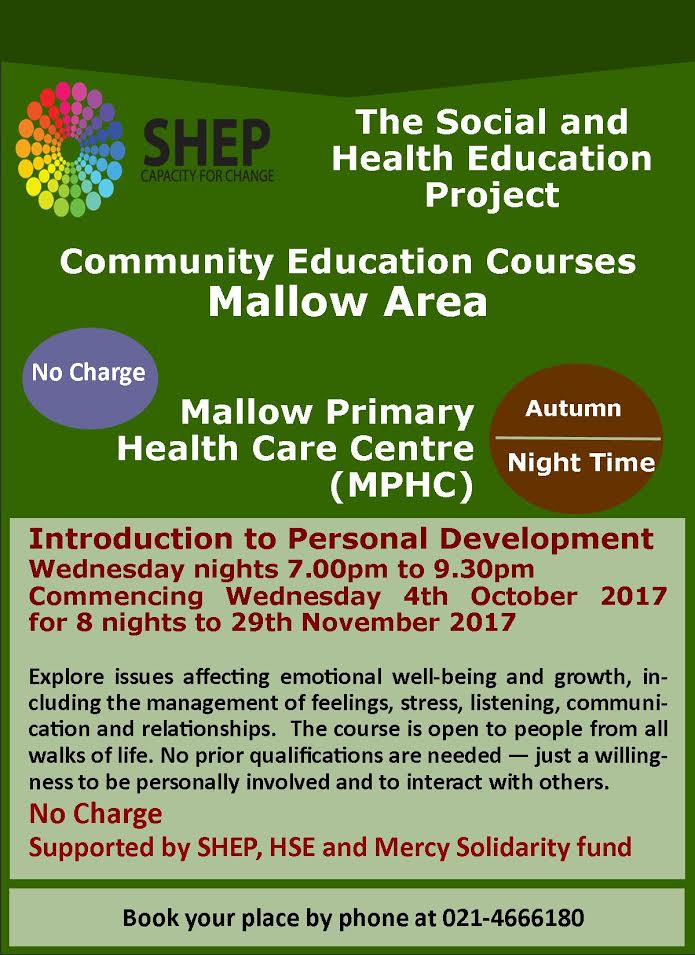 Shep personal development course