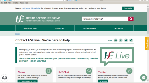 HSE Launch HSE Live - Avondhu Blackwater Partnership Website